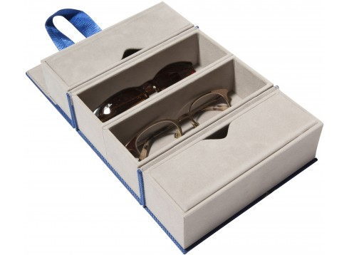 Foldable Travel Case Cobalt Blue
