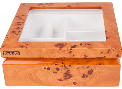 Burl Jewelry Box