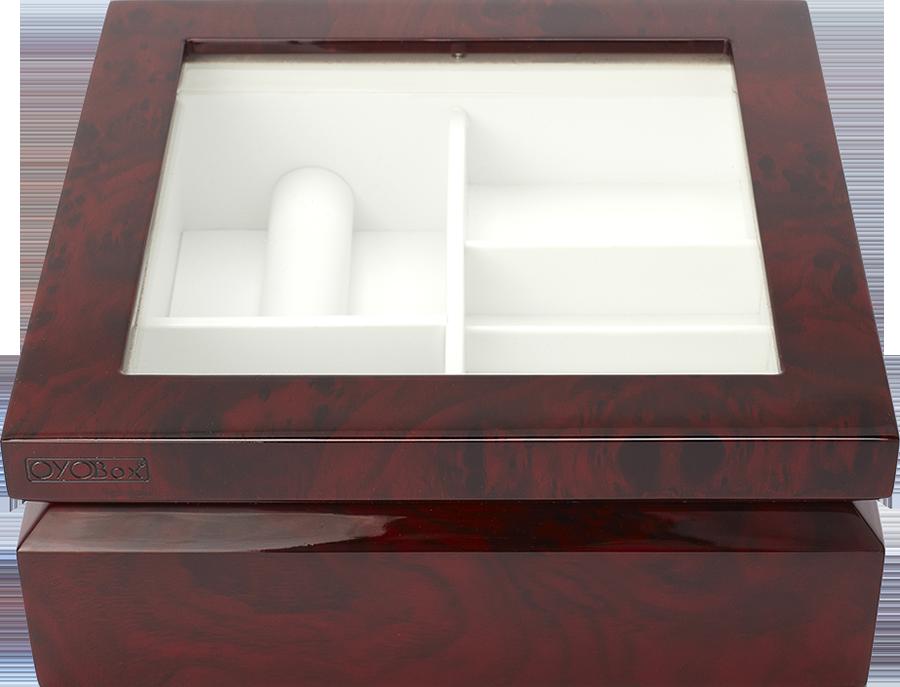 Cherry Burl Jewelry Box