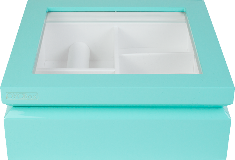 Aqua Jewelry Box