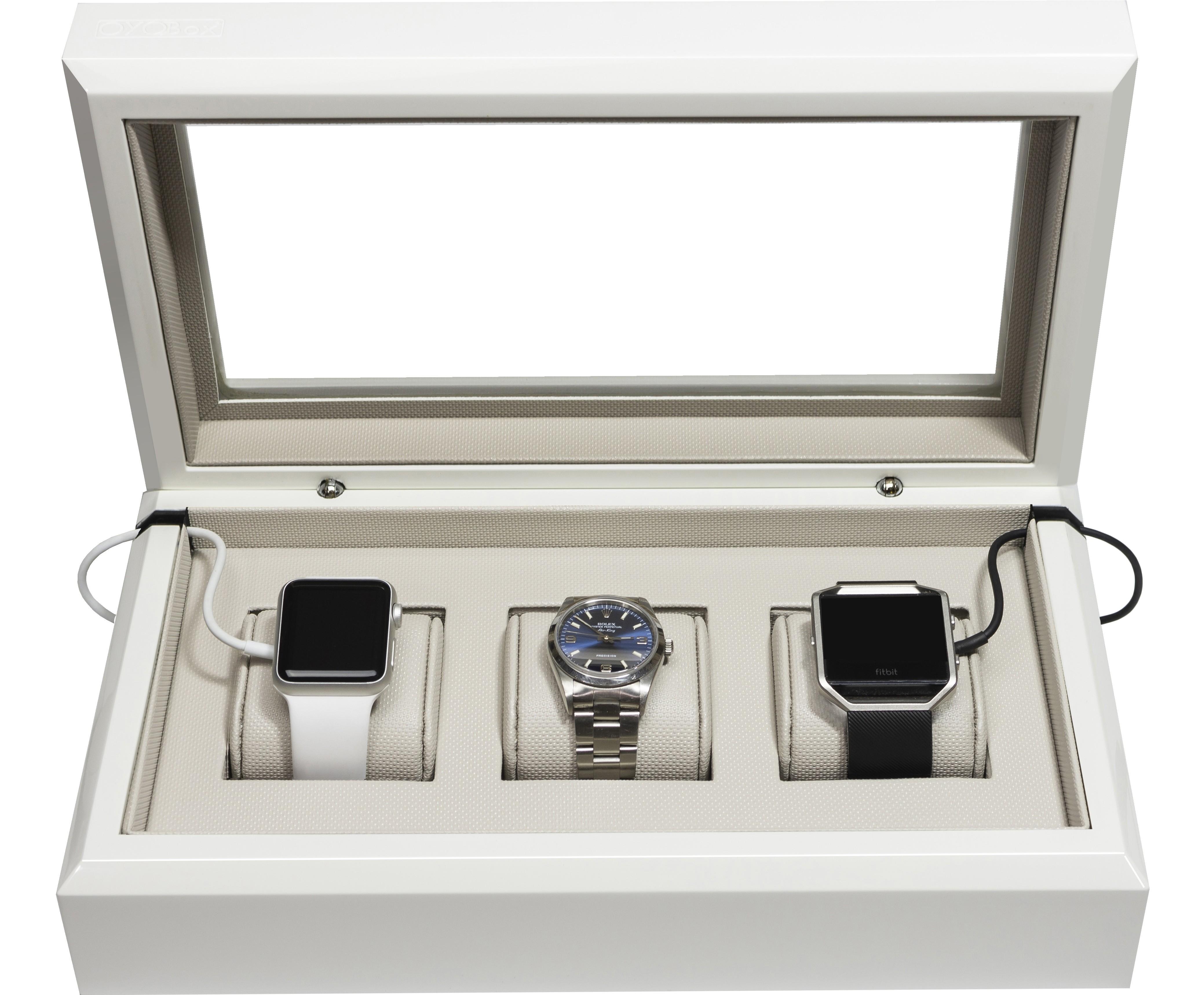 White Smart-Watch Box