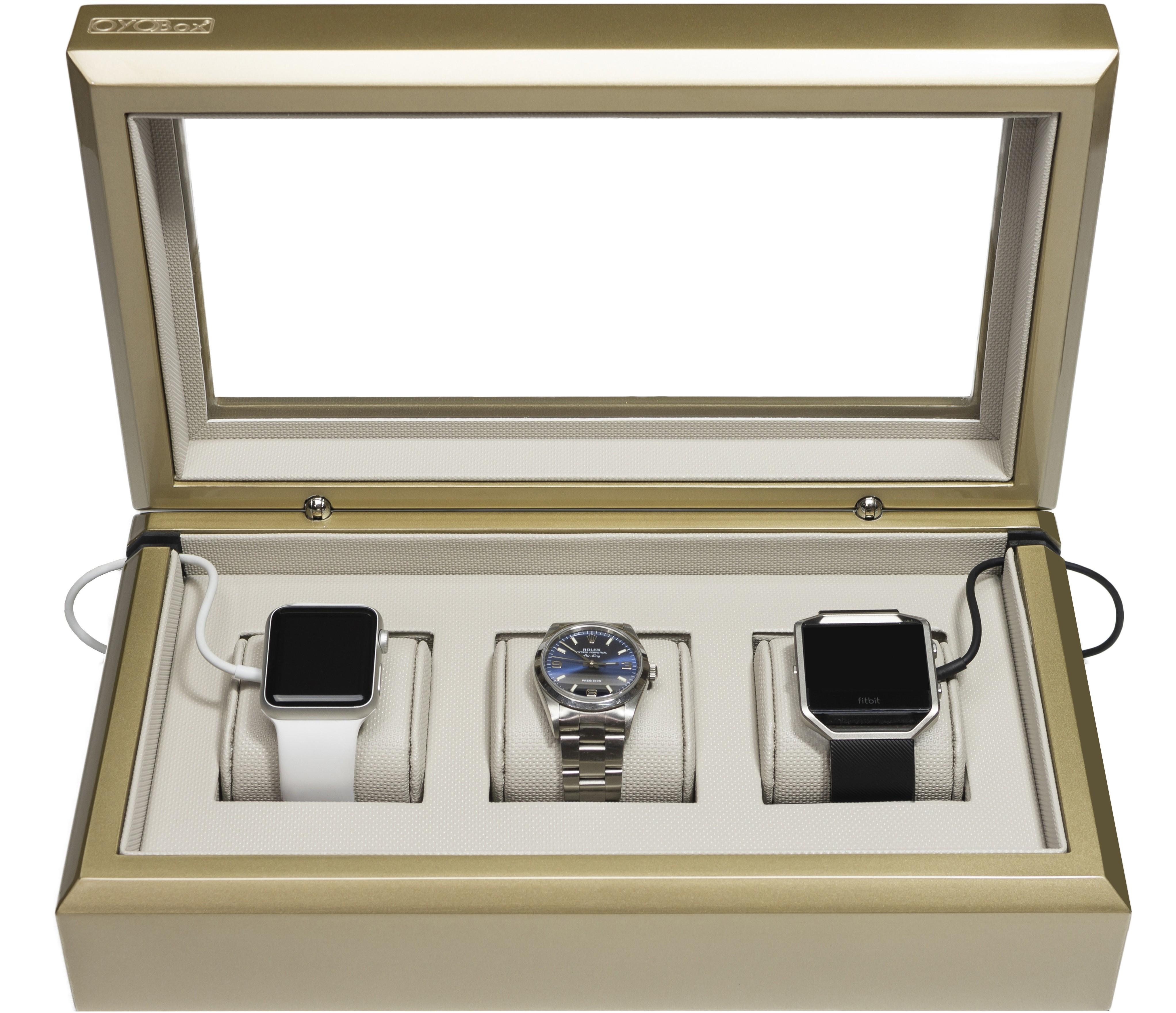 Latte Smart-Watch Box