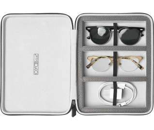 Cool Gray Travel Case