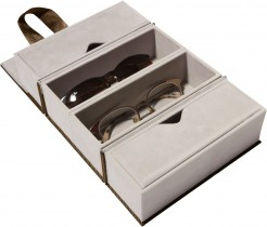 Foldable Travel Case Mocha Brown