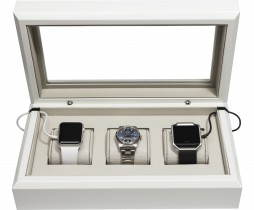 White Smart-Watch Box