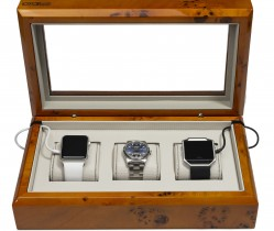 Burl Smart-Watch Box